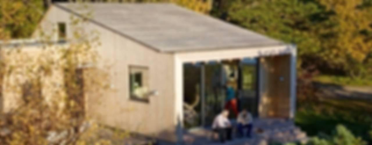 Projekty, skandynawskie Domy zaprojektowane przez Collective Works