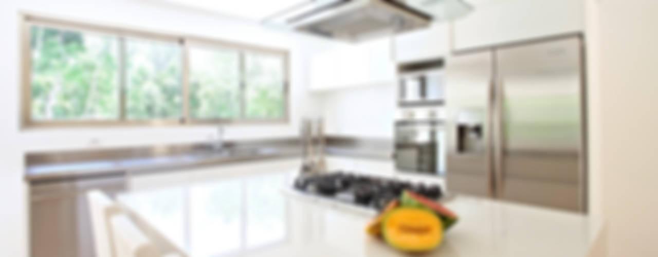 Casa T Cocinas modernas de Enrique Cabrera Arquitecto Moderno
