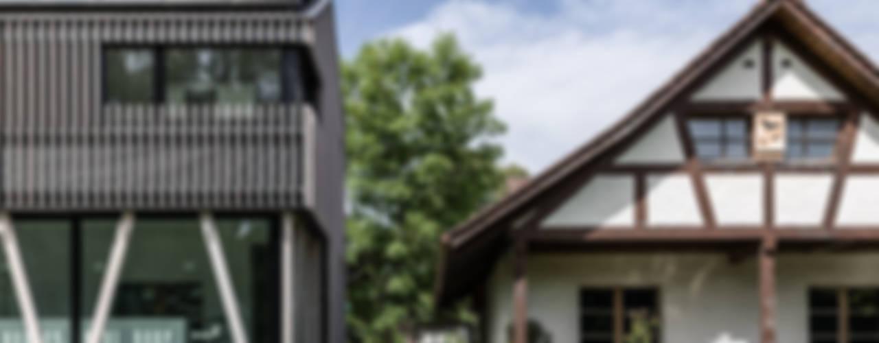EFH in Hemishofen, SH Minimalistische Häuser von Dost Minimalistisch