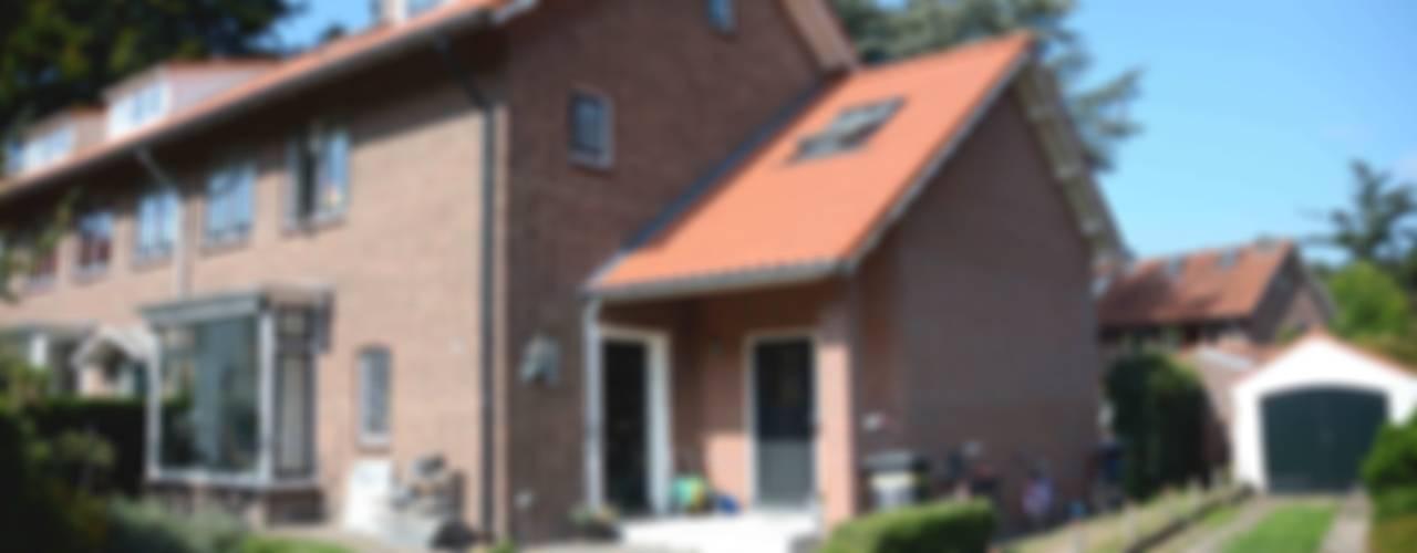 uitbreiding woonhuis Amersfoort:  Huizen door TIEN+ architecten
