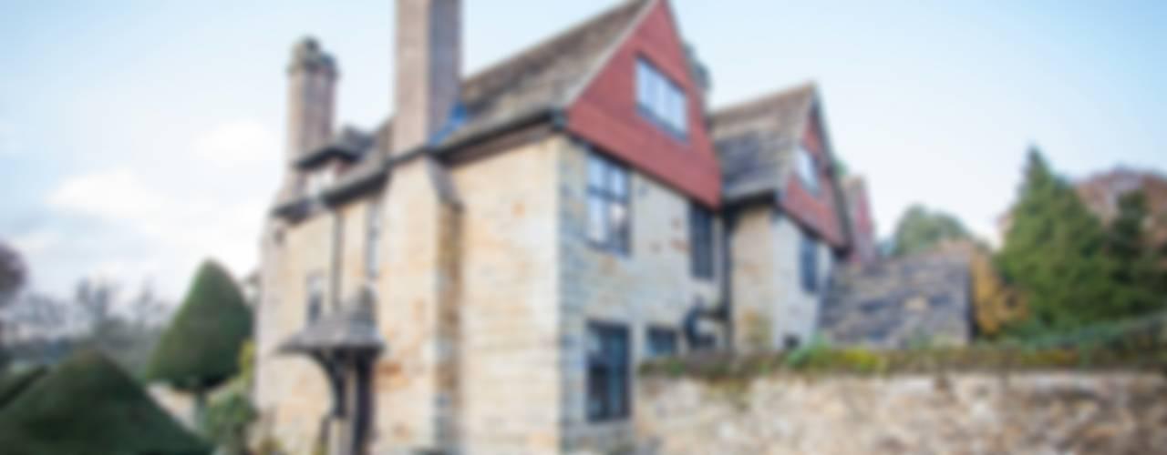 Rhiannon's House Casas campestres por Nutshell Construction Campestre