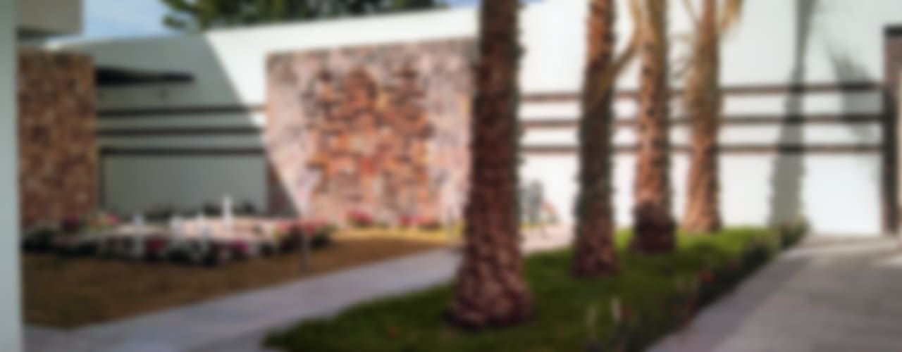 Jardines de estilo  por Acrópolis Arquitectura