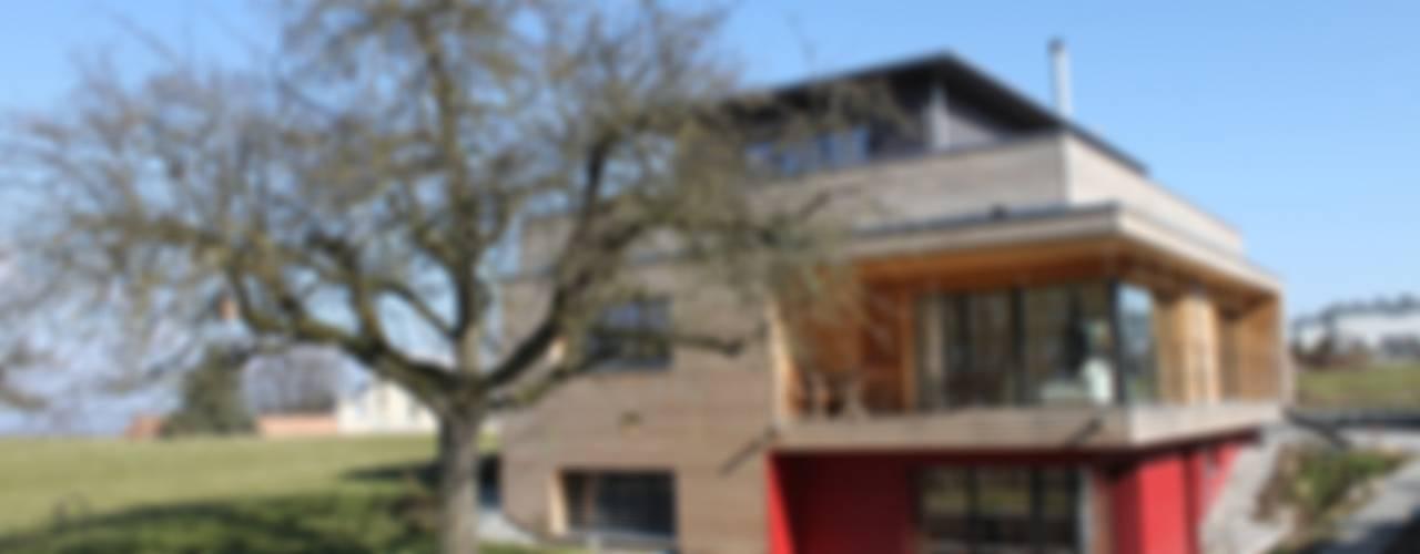 Neubau Einfamilienhaus als Passivhaus:  Häuser von ANB Architekten AG