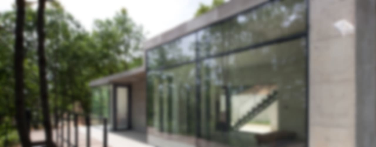 Atelier Namu Saenggak: around architects의  주택,모던