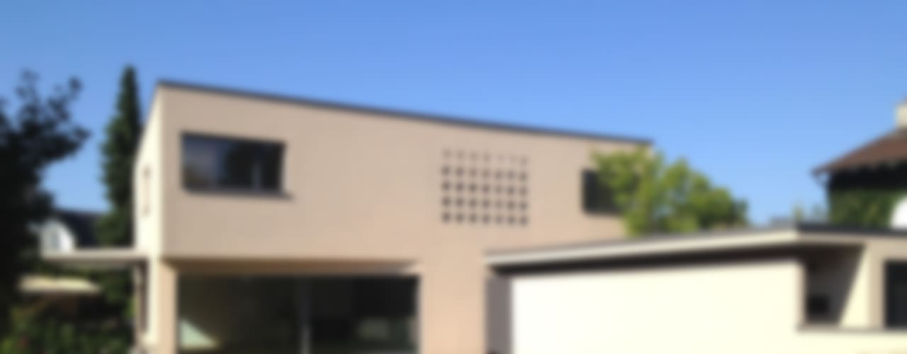 EFH Binzenweg Moderne Häuser von B & M Architekten GmbH Modern