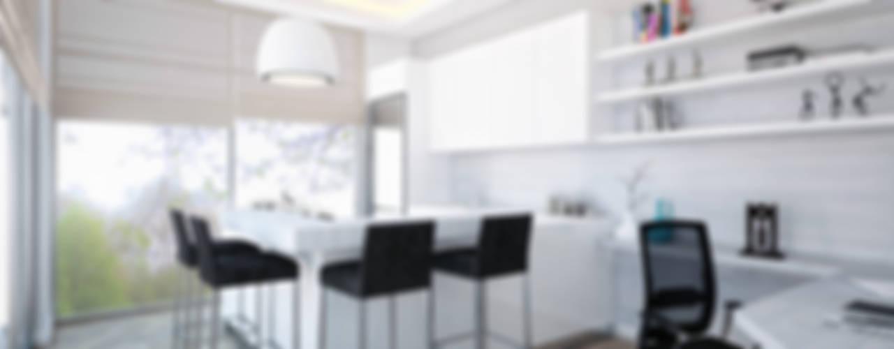 Voltaj Tasarım – AA EVİ:  tarz Mutfak