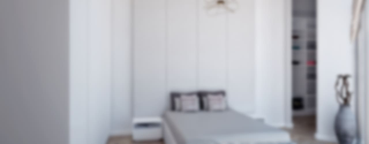 Dormitorios minimalistas de Voltaj Tasarım Minimalista