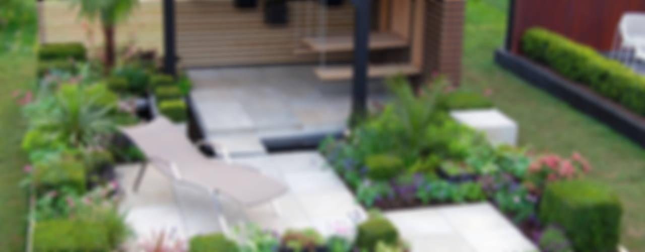 RHS Cardiff 2015 Jardines modernos: Ideas, imágenes y decoración de Best4hedging Moderno