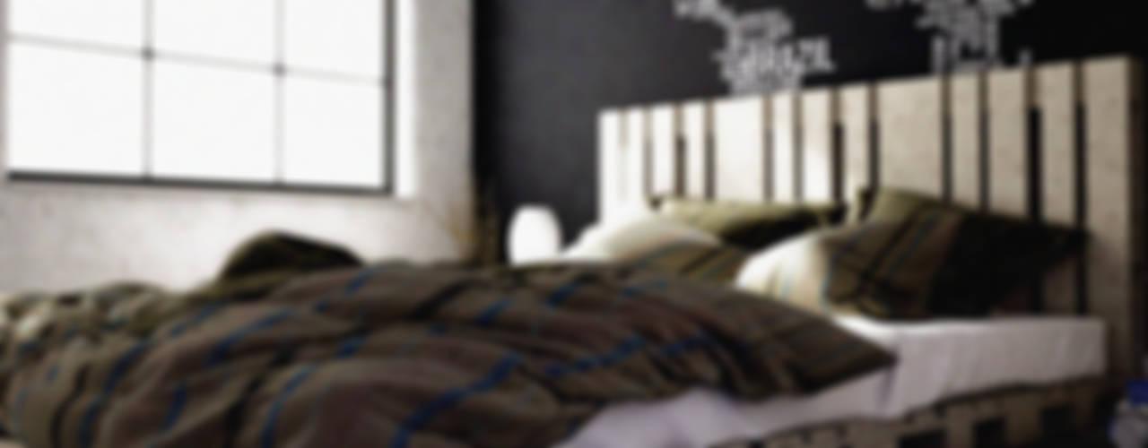 Minimalistische slaapkamers van homify Minimalistisch