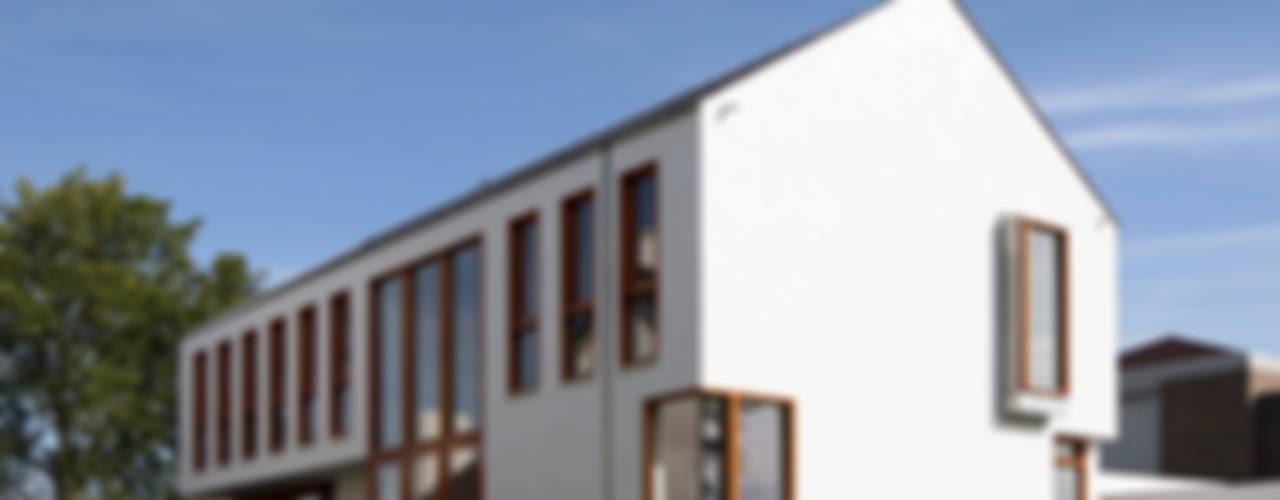 WONING GDB te BREDA Moderne huizen van ddp-architectuur Modern