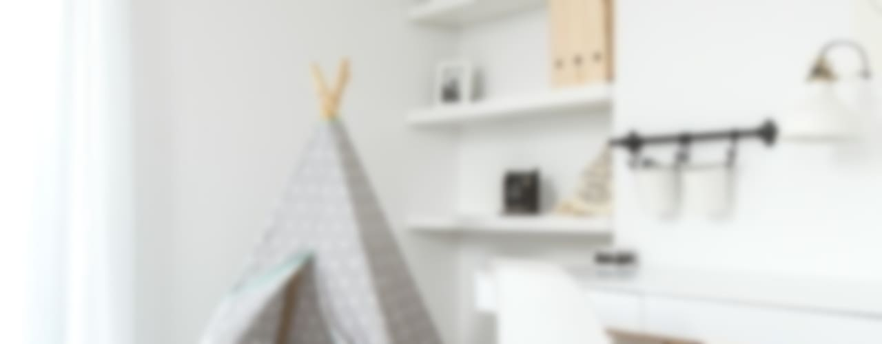 Dormitorios infantiles de estilo escandinavo de stabrawa.pl Escandinavo