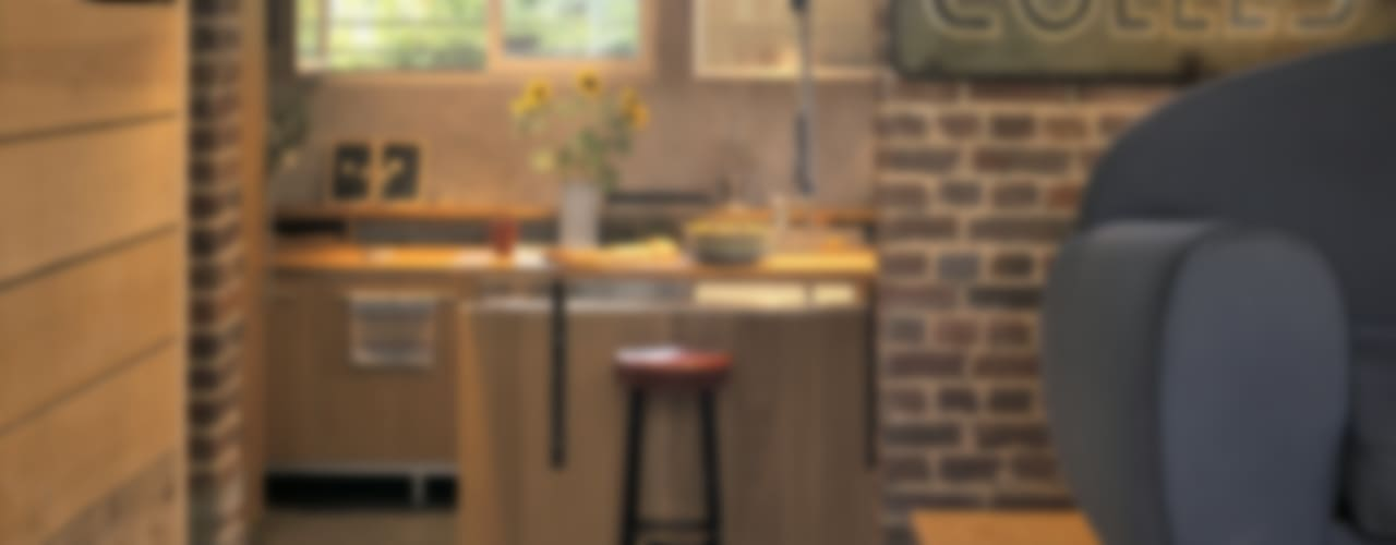 Cozinhas  por SARL BOURILLET ET ASSOCIES