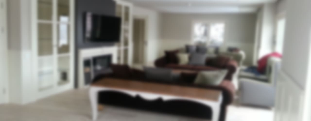 Villa Rustik Oturma Odası teknogrup design Rustik