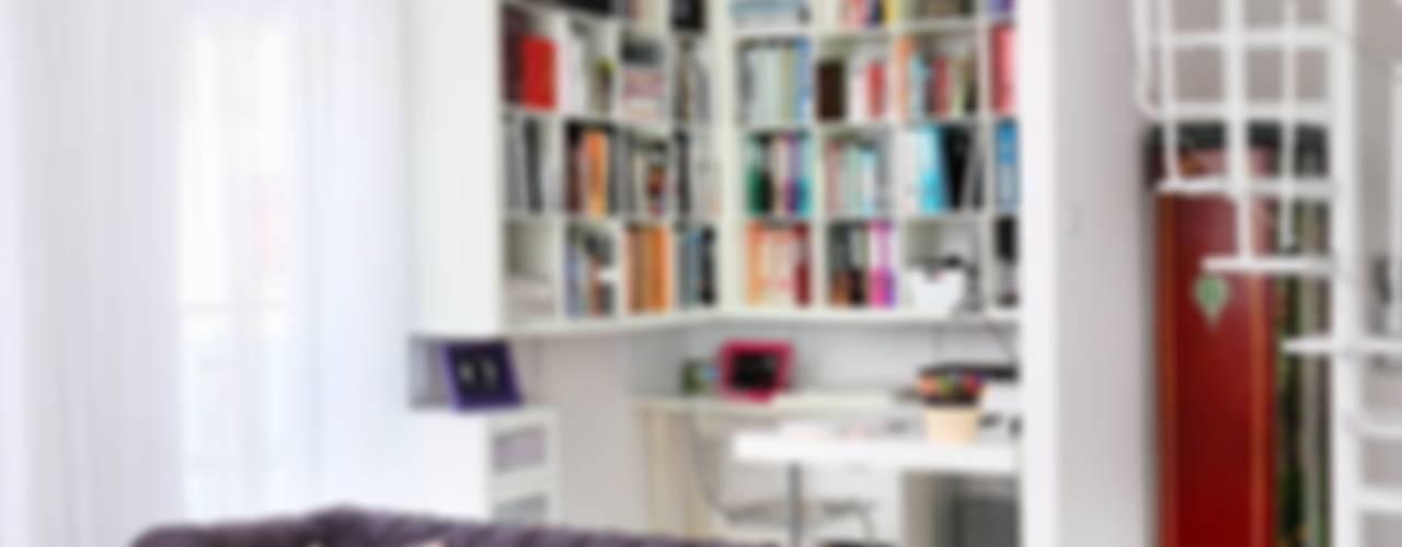 Modern Oturma Odası livinghome wnętrza Katarzyna Sybilska Modern