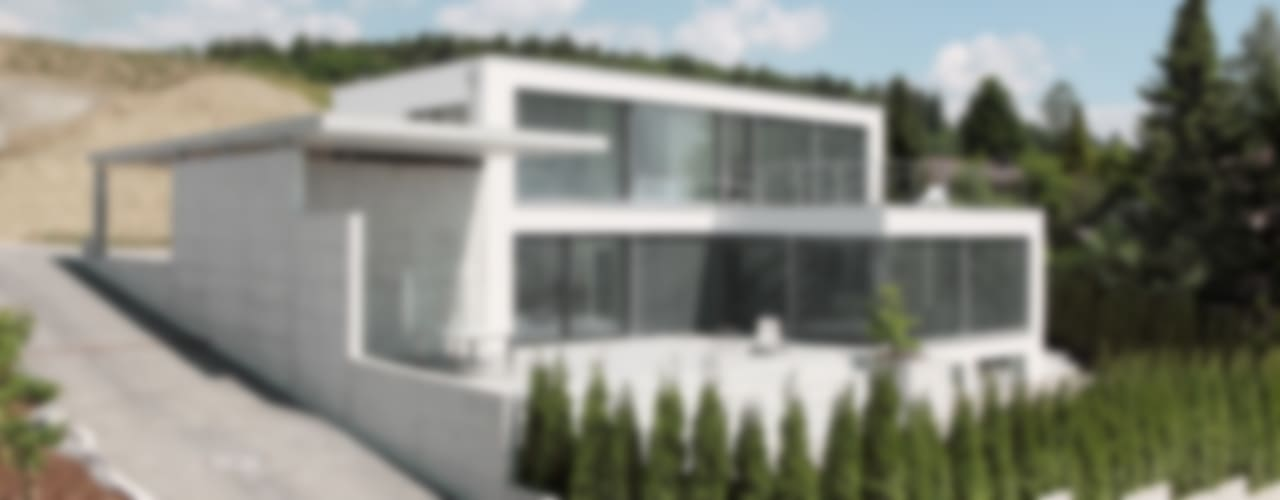 Einfamilienhaus im Schweizer Mittelland Minimalistische Häuser von Unica Architektur AG Minimalistisch