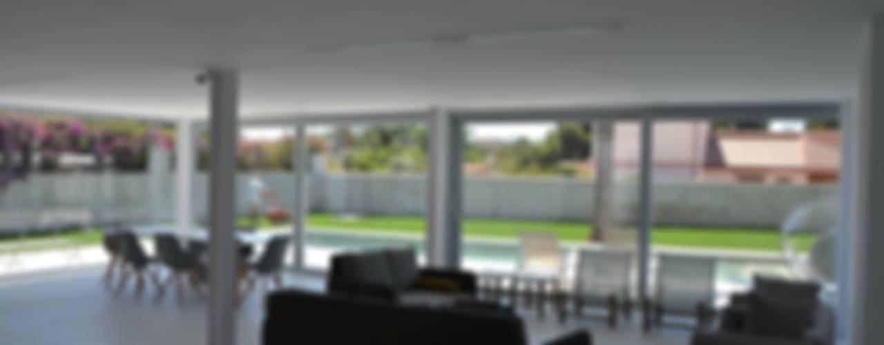 Casa Flora Comedores de estilo moderno de Alicante Arquitectura y Urbanismo SLP Moderno