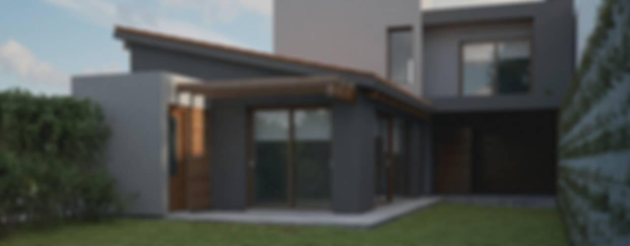 Casa CH-M: Casas de estilo  por ARstudio