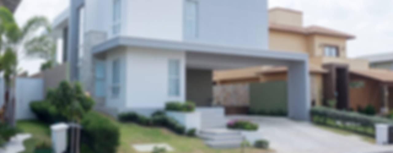 Дома в стиле модерн от POCHE ARQUITETURA Модерн