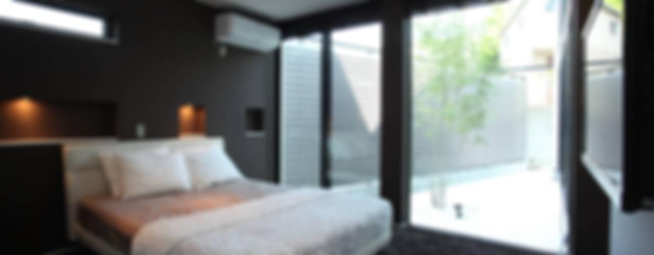 Chambre de style  par TERAJIMA ARCHITECTS, Moderne