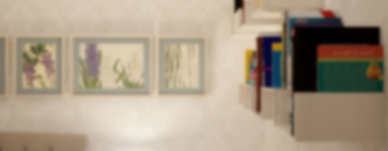 Cuartos de estilo ecléctico de Симуков Святослав частный дизайнер интерьера Ecléctico