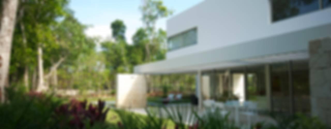 Jardines de estilo  por Enrique Cabrera Arquitecto