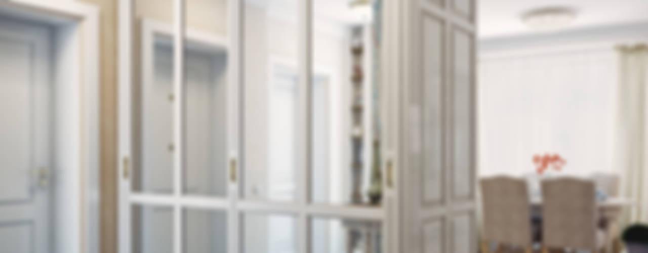 Дизайн-проект 4-х комнатной квартиры, г. Москва: Коридор и прихожая в . Автор – Анна Теклюк