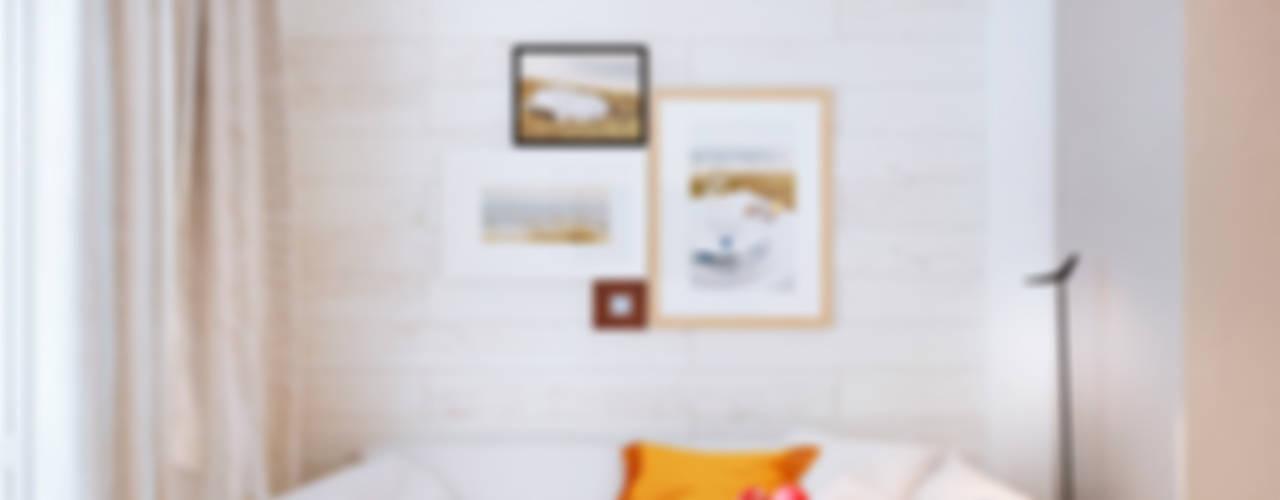 Дизайн интерьера объединенной квартиры в ЖК «Арабская ночь» (Алупка) Столовая комната в стиле модерн от ROMM Модерн