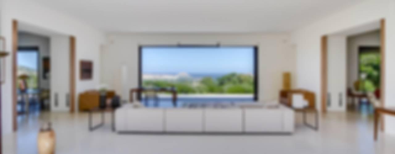 Maison à Calvi, Corse Salon méditerranéen par Meero Méditerranéen