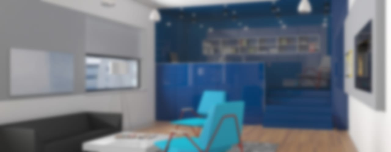 ultra modern: Гостиная в . Автор – Nox,