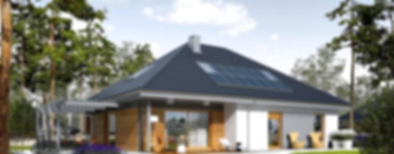 Maisons modernes par Pracownia Projektowa ARCHIPELAG Moderne