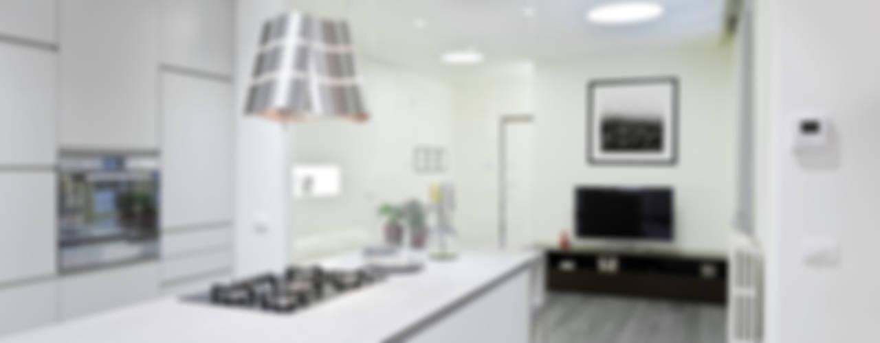 Appartamento a Bollate Soggiorno minimalista di bdastudio Minimalista