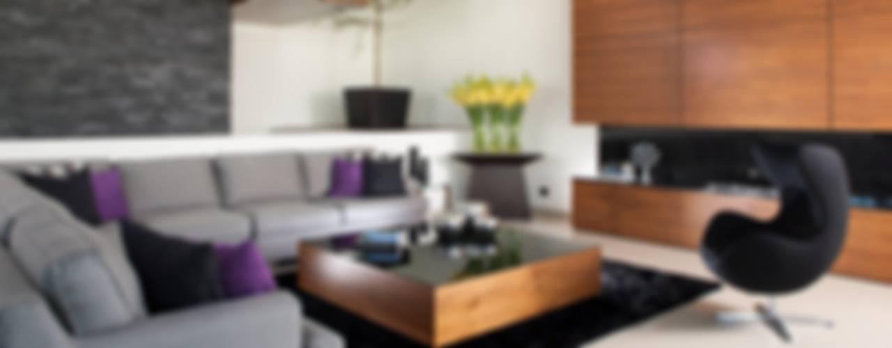 Casa GM: Salas de estilo  por GLR Arquitectos,