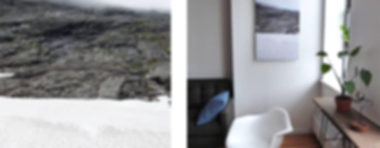 Norway Fjord van Aardse Kunst Minimalistisch