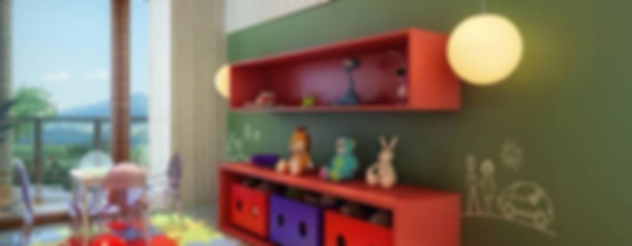 Residência Itatiba Quarto infantil moderno por SESSO & DALANEZI Moderno