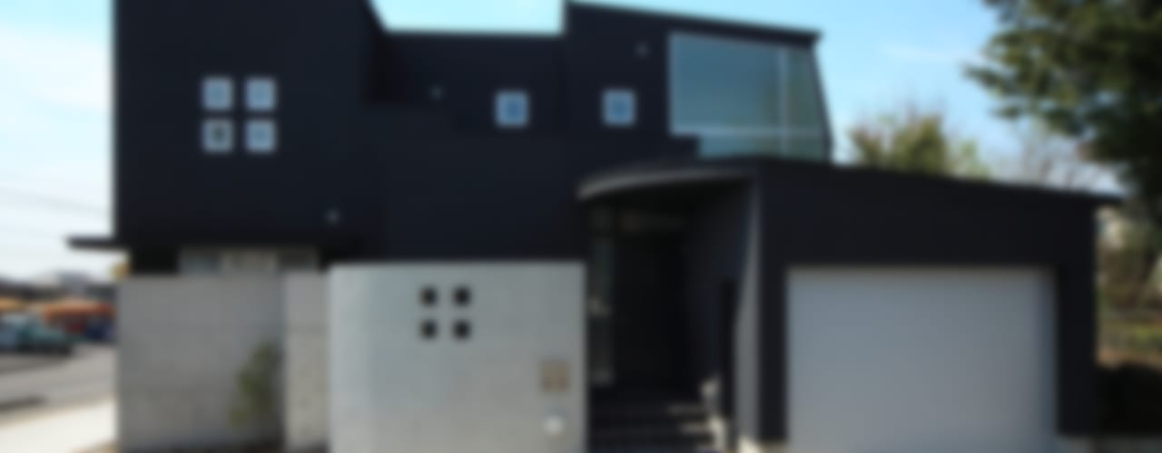 「内開きの家」: MA設計室が手掛けた家です。,モダン