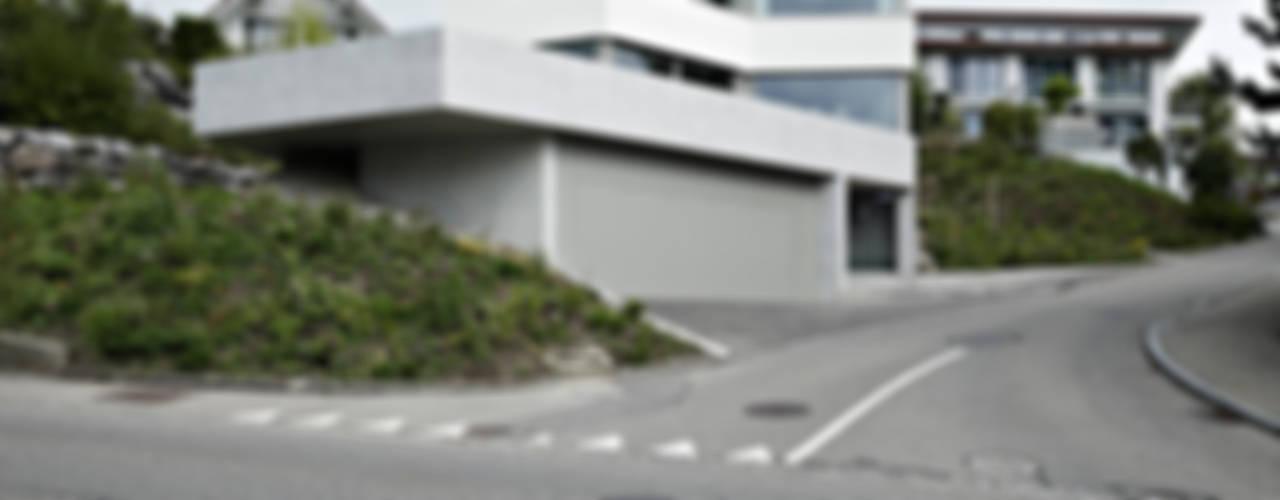 OLH . Neubau Einfamilienhaus . Oberlunkhofen . AG Moderne Häuser von idA buehrer wuest architekten sia ag Modern