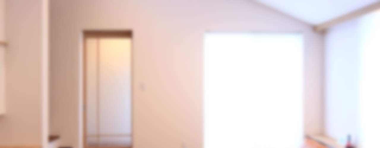 「Skip Core」~三世代を結ぶ家~: MA設計室が手掛けたリビングです。