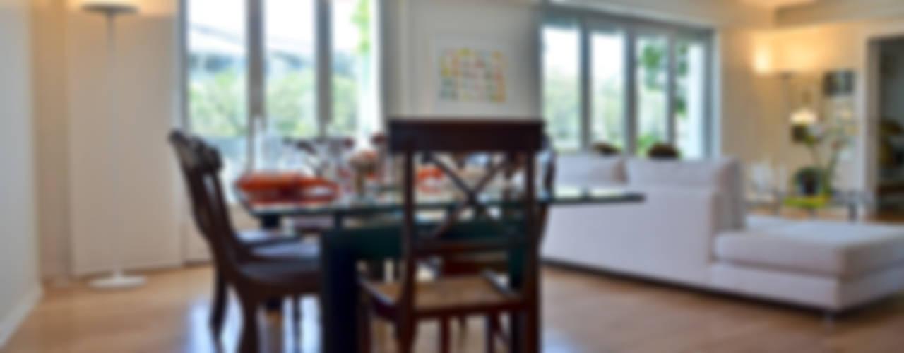 GUTMAN+LEHRER ARQUITECTAS Ruang Makan Modern