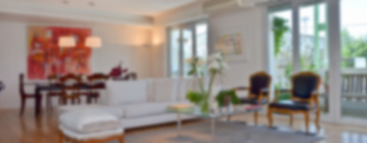 Wohnzimmer von GUTMAN+LEHRER ARQUITECTAS