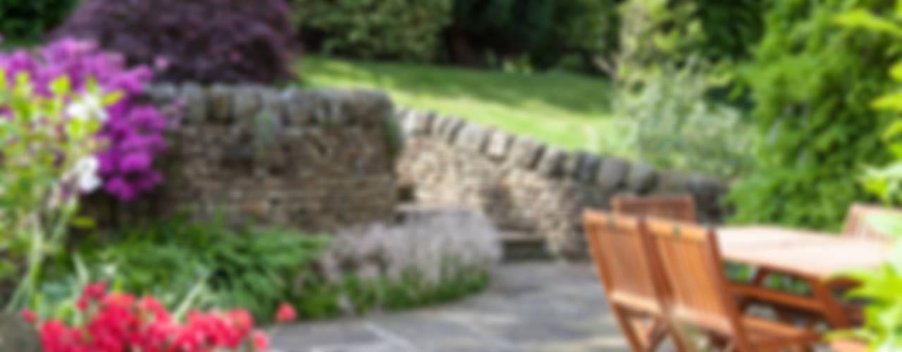 Cottage Garden, Cheshire Rustik Bahçe Barnes Walker Ltd Rustik