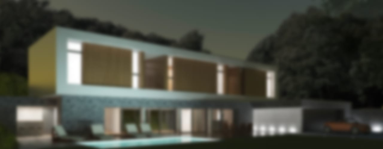 Maison L02 Chambre minimaliste par 3B Architecture Minimaliste