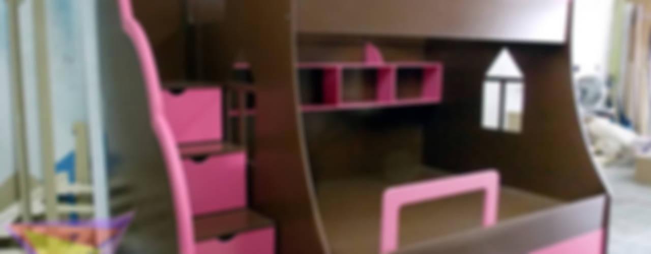 Literas y muebles juveniles de Kids Wolrd- Recamaras Literas y Muebles para niños Moderno
