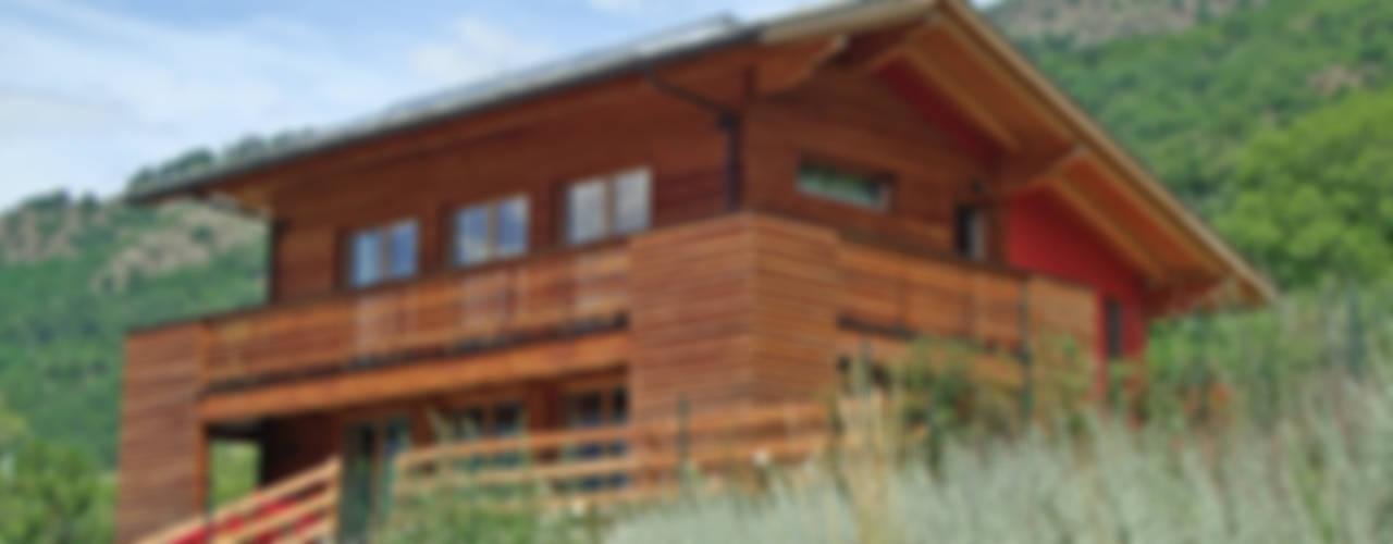 Projekty,  Domy zaprojektowane przez Eddy Cretaz Architetttura, Nowoczesny