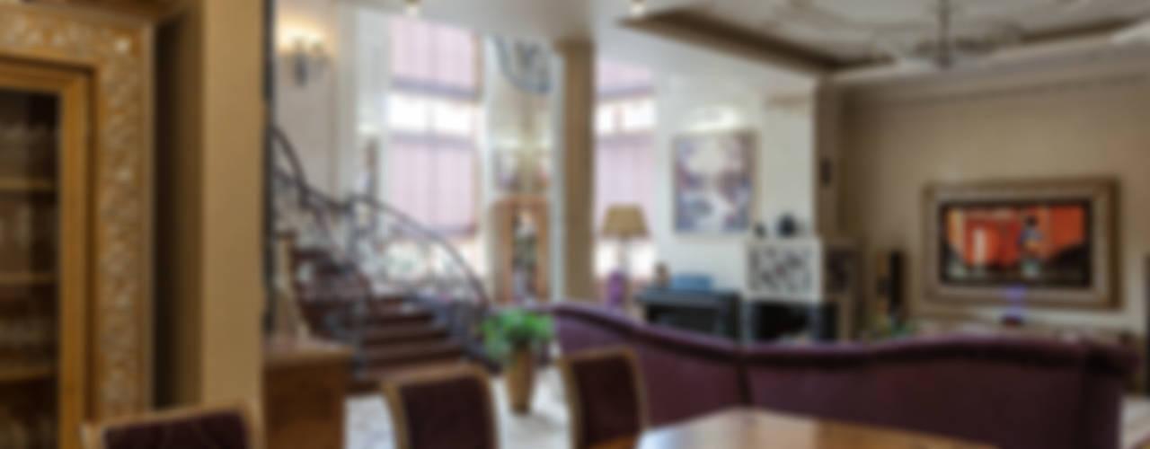 Общая гостиная зона: Гостиная в . Автор – Интерьеры от Марии Абрамовой