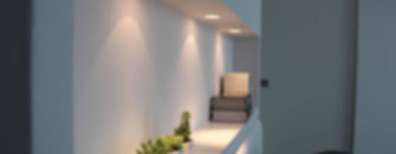 Riconversione ex magazzino in appartamento di Elisa Rizzi architetto Minimalista