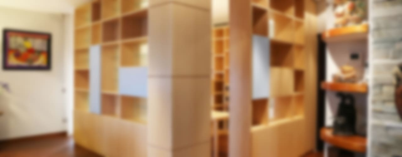Estudios y oficinas de estilo moderno por MAT architettura e design