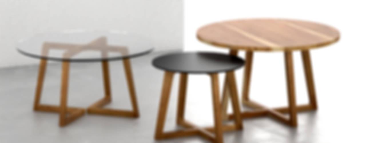 Mesas ratonas Forma muebles LivingsMesas ratonas y laterales Madera maciza Acabado en madera