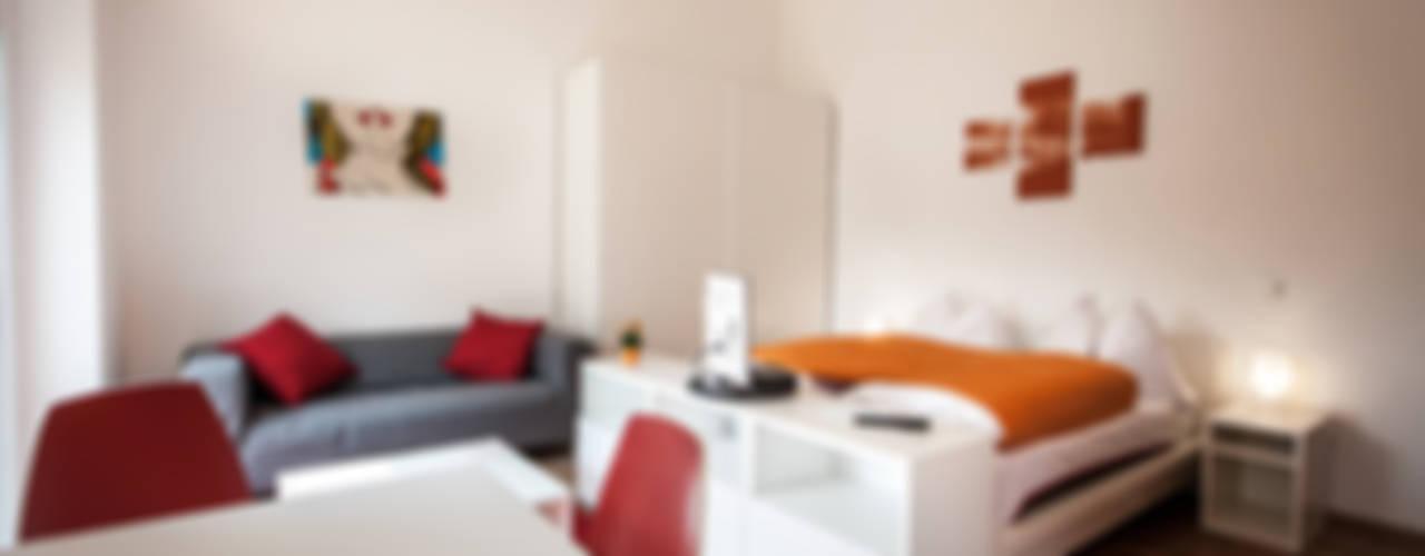 Studios + Apartments, Graz Moderne Schlafzimmer von Florian Schober Architektur ZT Modern