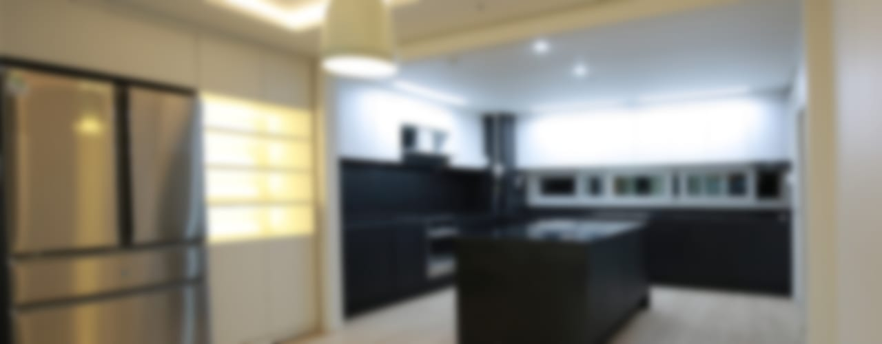 모던하고 아늑한 분위기의 아파트 모던스타일 주방 by 1204디자인 모던