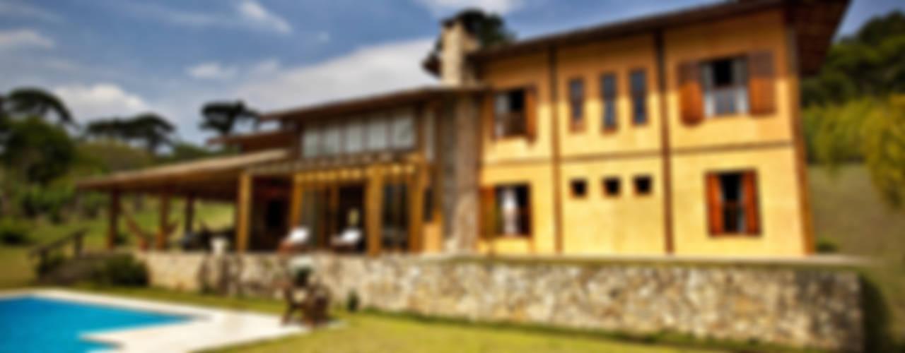 Casas rústicas de Bianka Mugnatto Design de Interiores Rústico